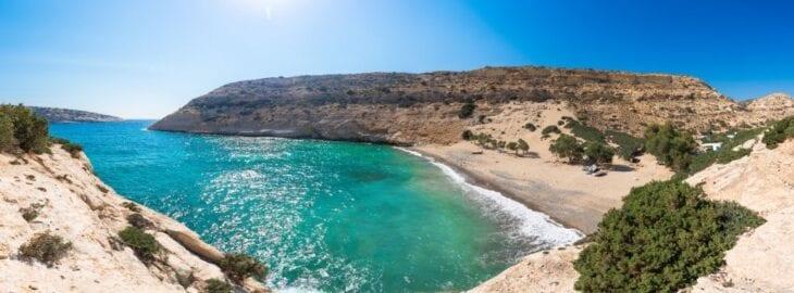 Vathi Beach Panorama