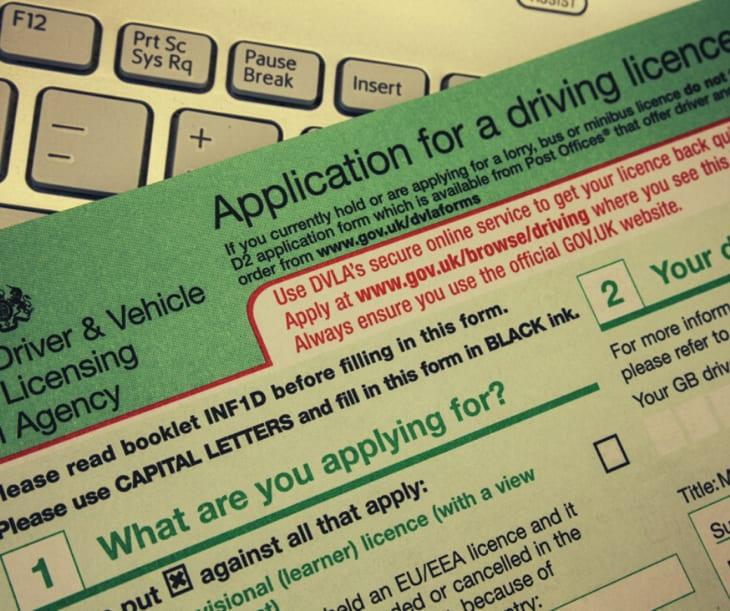 Patente di guida internazionale a Creta - UK