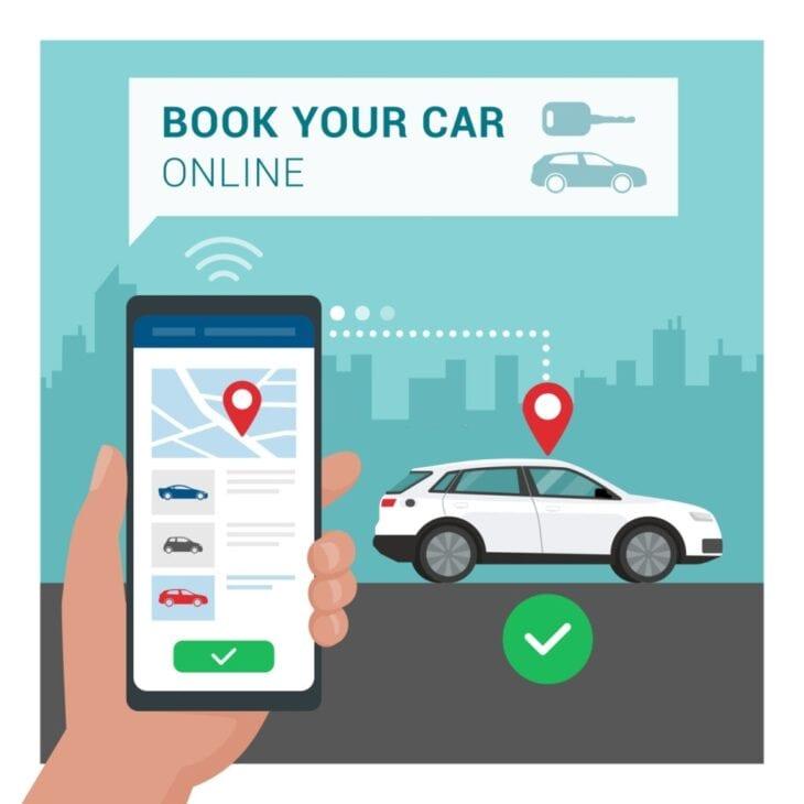 Aplikacja do rezerwacji wynajmu samochodów
