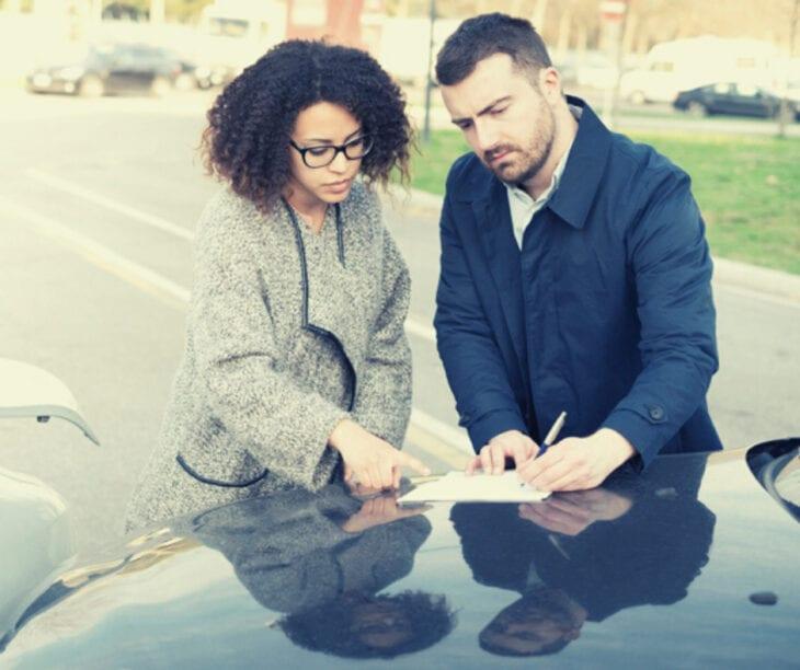 Car rental Accident Report