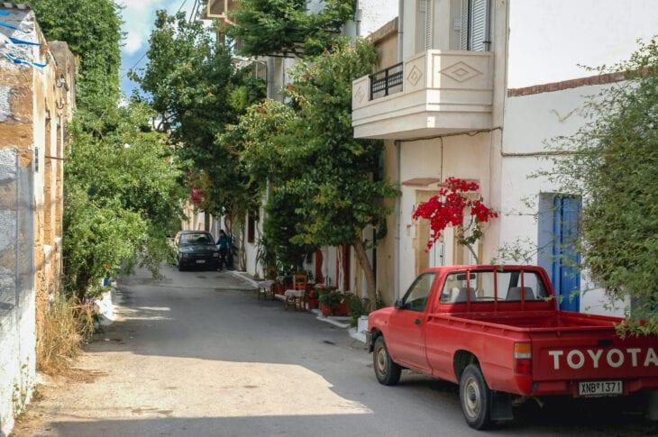 Street in Kissamos