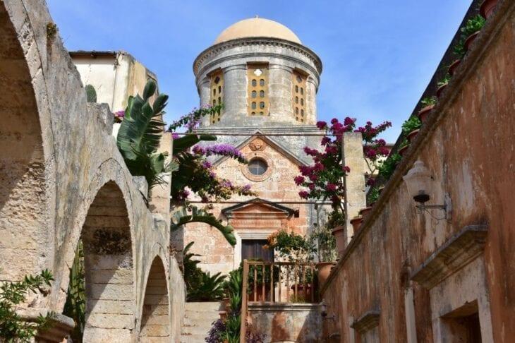 Agia Triada Monastery in Chania