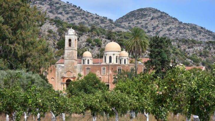 Agia Triada Tsagkarolon Chania Crete