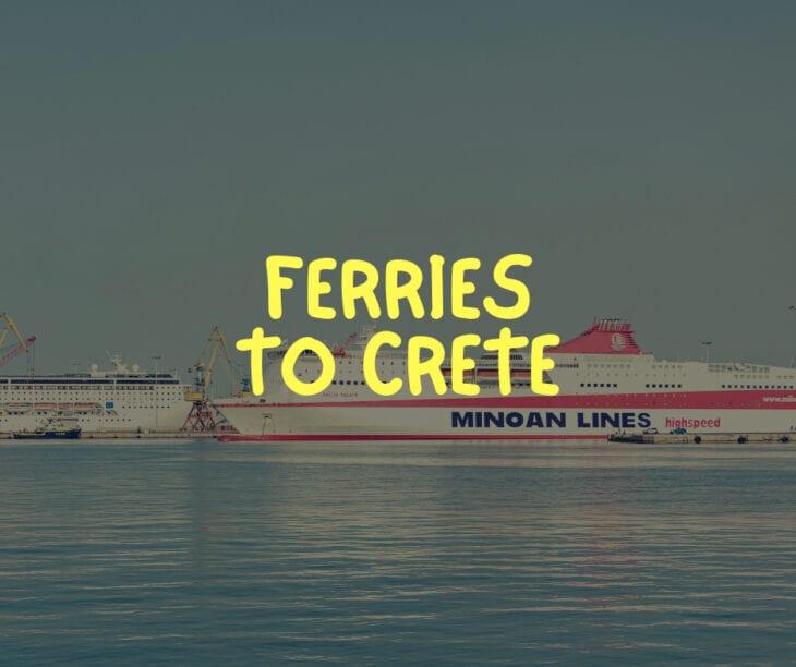 Ferries to Crete