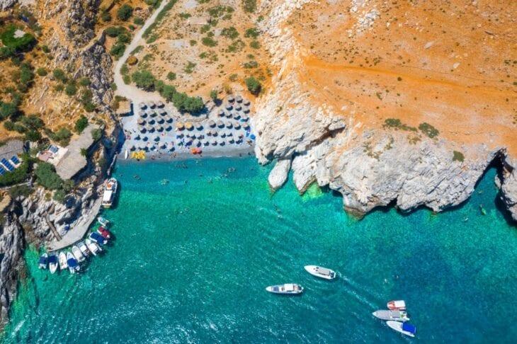 Marmara beach Crete