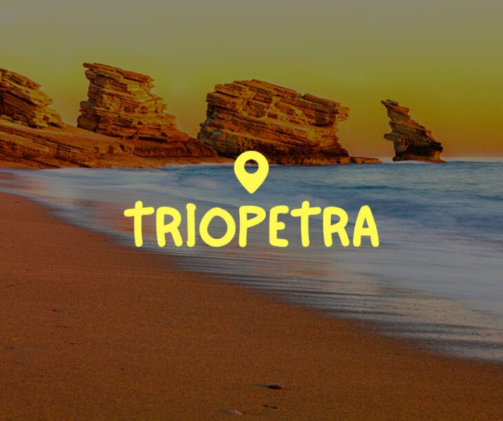 Triopetra Crete Greece