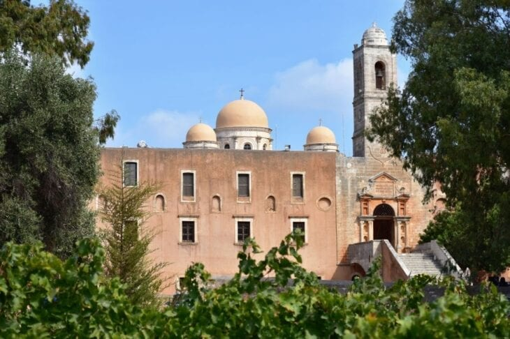Tsagarolon Monastery Crete