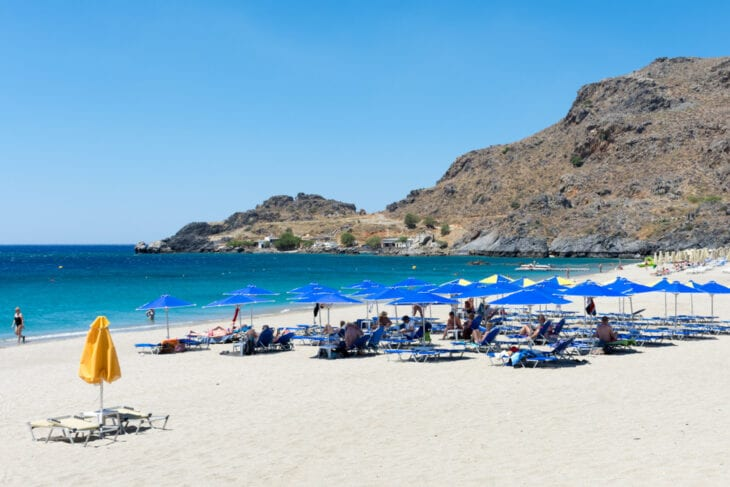 Damnoni white sand beach