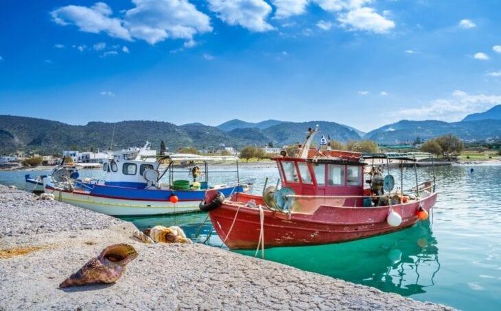 Fishing Boats in Milatos Port