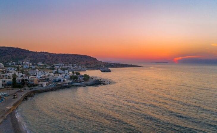 Sunset in Milatos