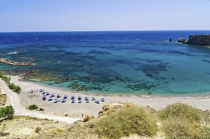 "Triopetra ""three rocks"" beach"