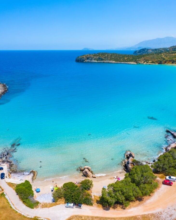 Voulisma Beach in Crete