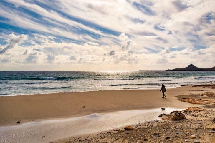Seascape east Crete in Xerokampos