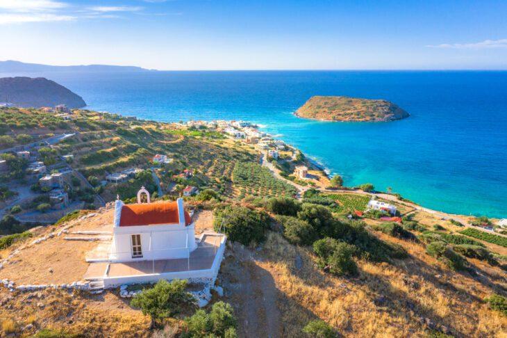 Church in Mochlos Crete