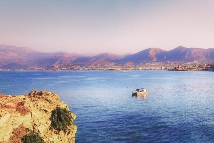 Panorama View in Anissaras Crete