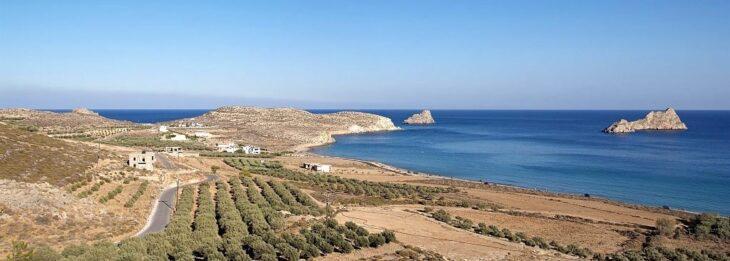 Xerokampos village in Southeastern Crete