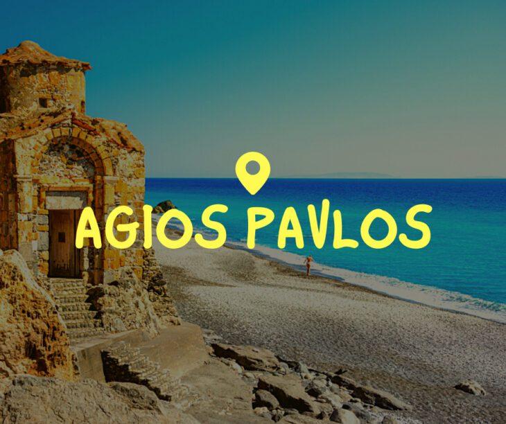 Agios Pavlos Crete Greece