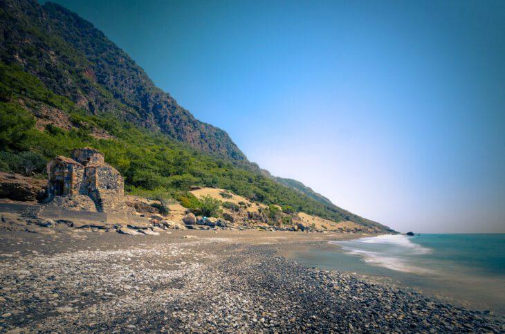 Agios Pavlos Beach in Crete Island