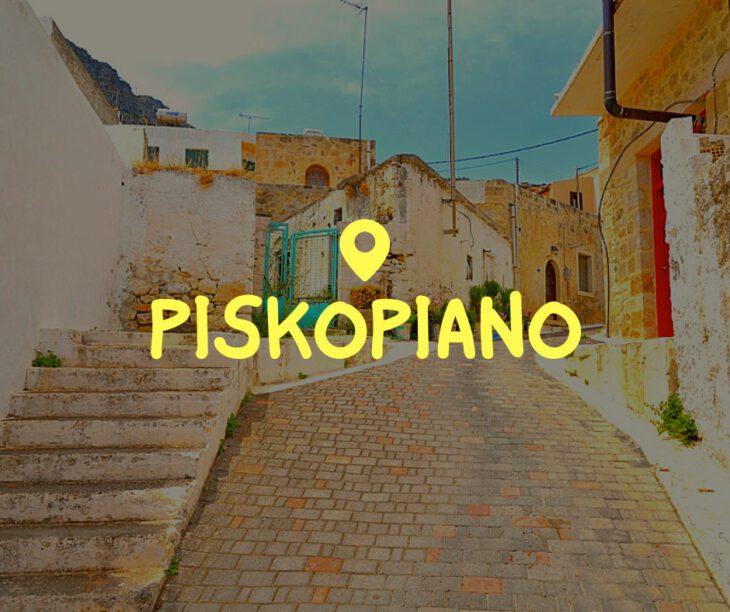 Piskopiano Crete