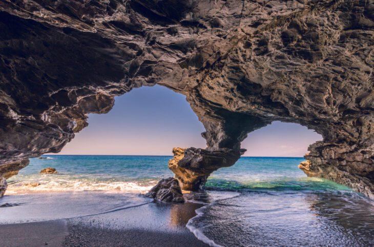 Agios Pavlos Sea Caves