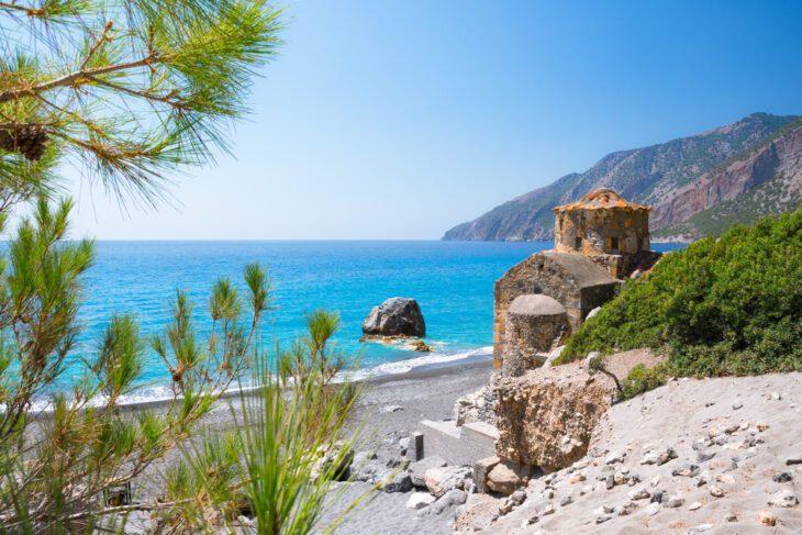 Saint Paul Church in Agios Pavlos Beach