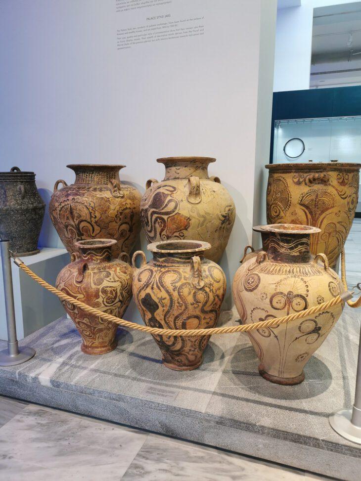 Ancient Greek Vases in Greek Pottery in Crete
