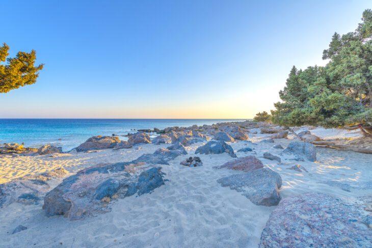 Sunset in Kedrodasos beach