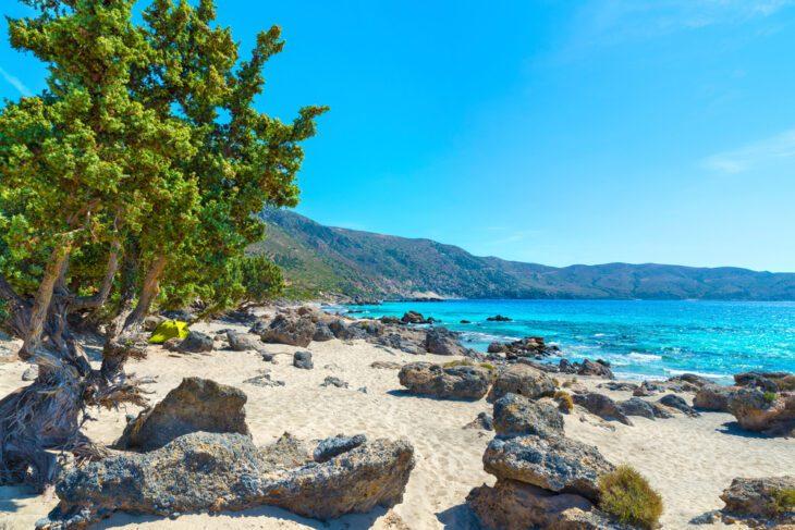 The amazing Kedrodasos Beach in Crete
