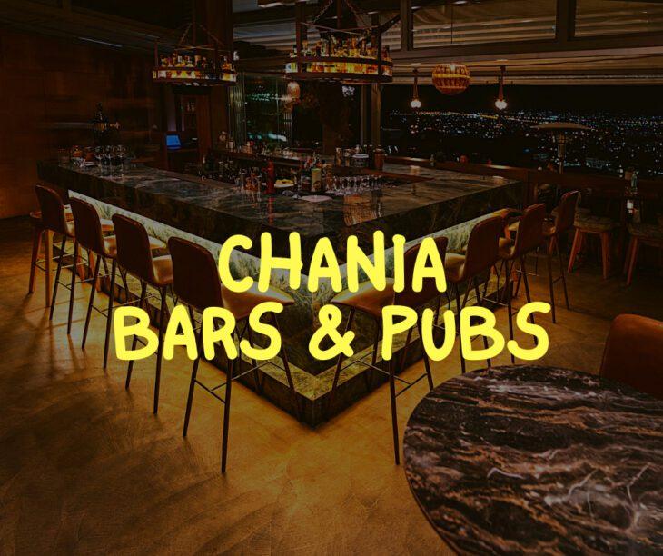 Bars in Chania
