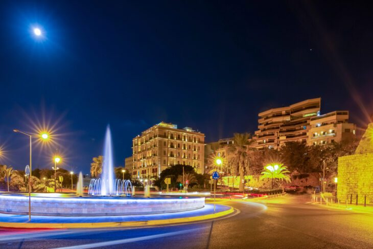 Heraklion by Night