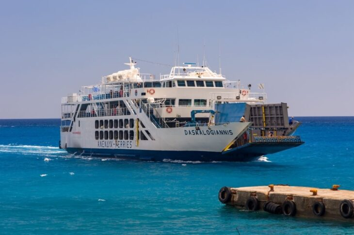 Ferry to Agia Roumeli