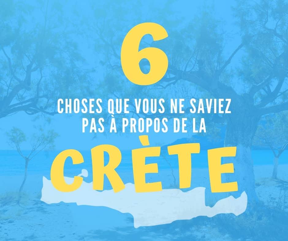 6 Choses Que Vous Ne Saviez Pas À Propos De La Crète (Et Que Vous Devriez Savoir)