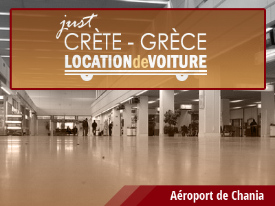 location de voiture Aéroport de Chania chez Rental Center Crete