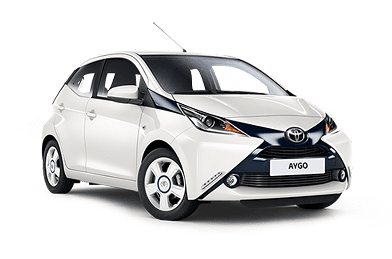 Toyota aygo vehicle is one of our car rental fleet models