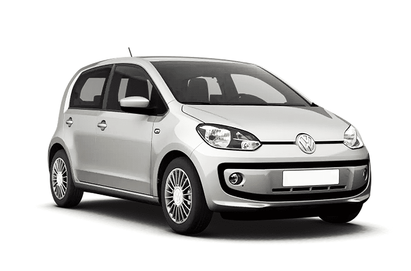 hire a Volkswagen Up in crete