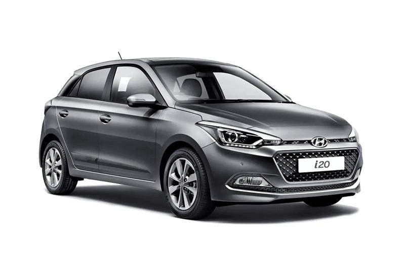 hire a Hyundai i20 in crete