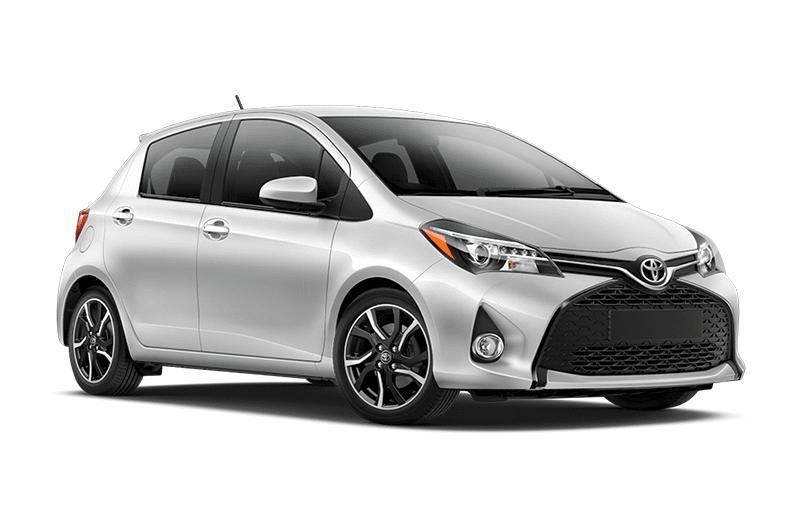 hire a Toyota Yaris Diesel in crete