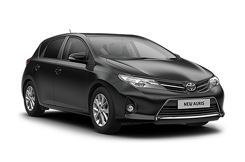 hire a Toyota Auris in crete