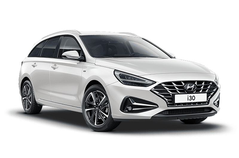 hire a Hyundai i30 Tourer in crete