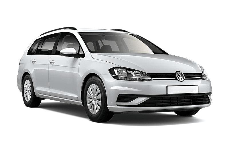 hire a Volkswagen Golf Variant in crete