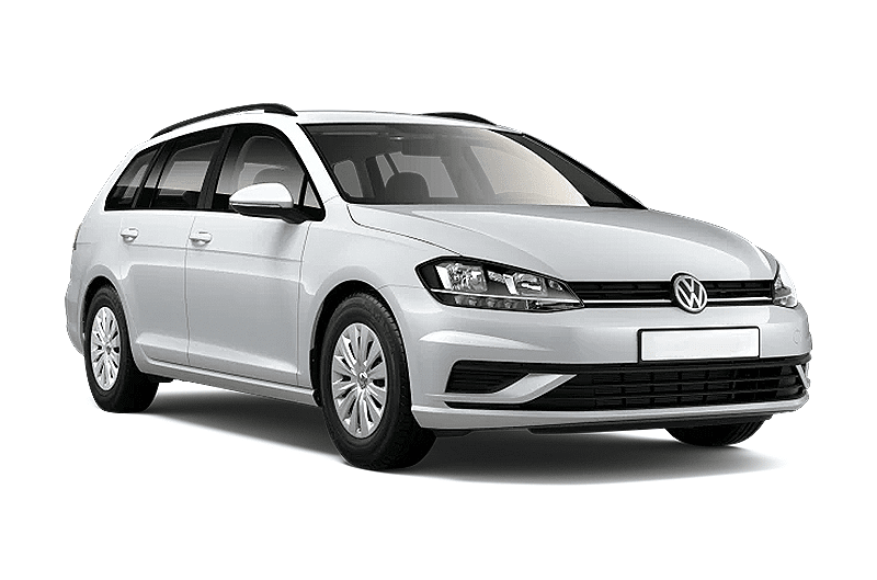 hire a Volkswagen Golf Variant in crete