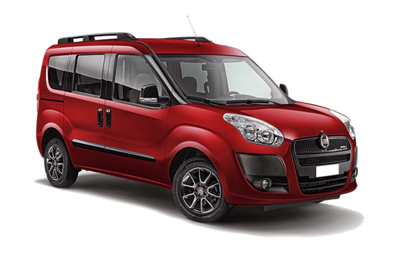hire a Fiat Doblo *7 Seater* in crete