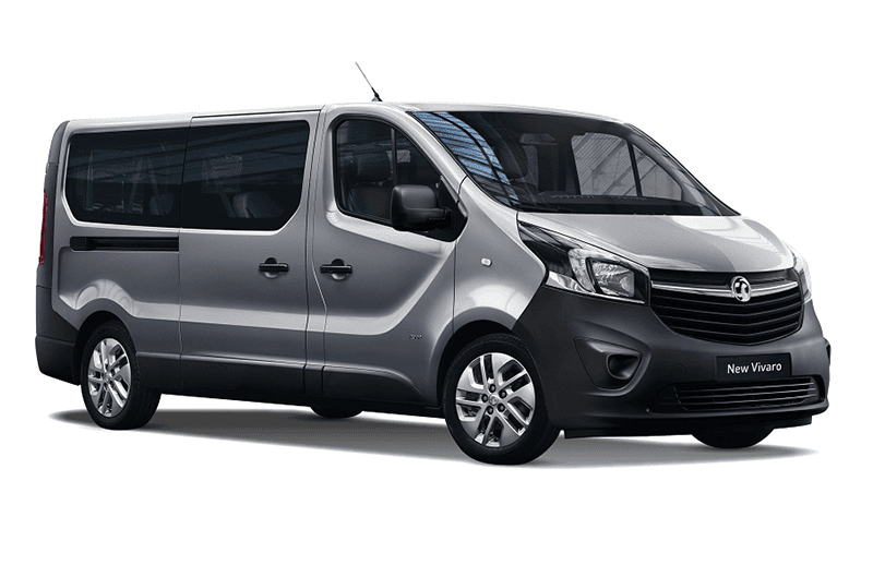 hire a Opel Vivaro *9 Seats* in crete