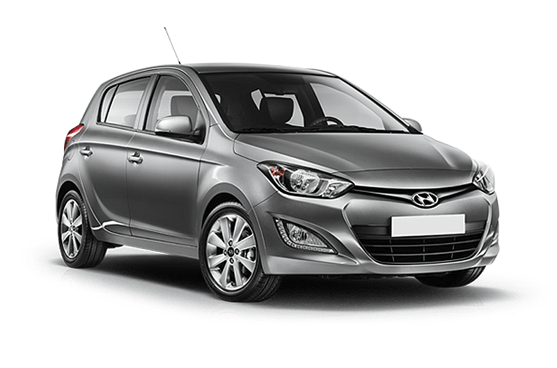 hire a Hyundai i20 Automatic in crete
