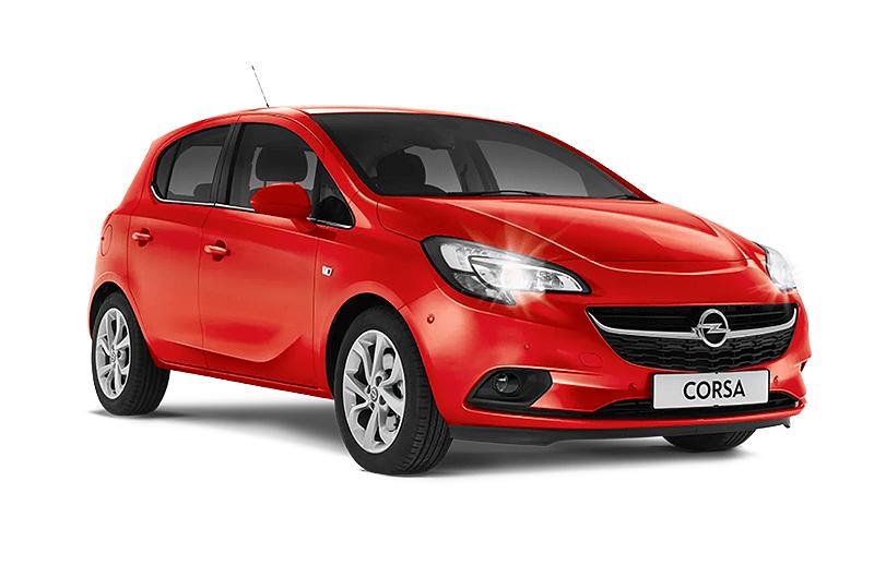 hire a Opel Corsa Automatic in crete