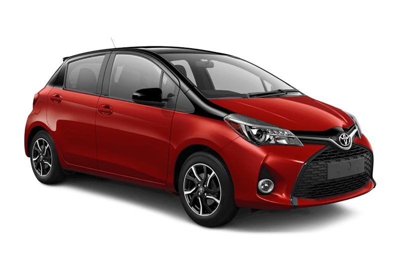 hire a Toyota Yaris Hybrid in crete