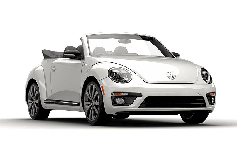 hire a Volkswagen Beetle in crete