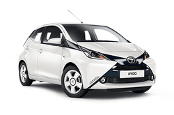 Toyota Aygo, Car hire Crete