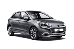 hire a Hyundai i20 in crete