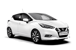 hire a New Nissan Micra in crete
